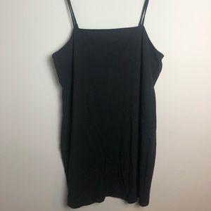 Forever 21 Plus size (3X) black cotton dress